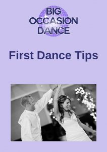 First Dance Tips