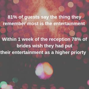 Wedding Entertainment Statistic